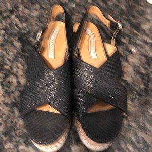 Zara wedge sandals.